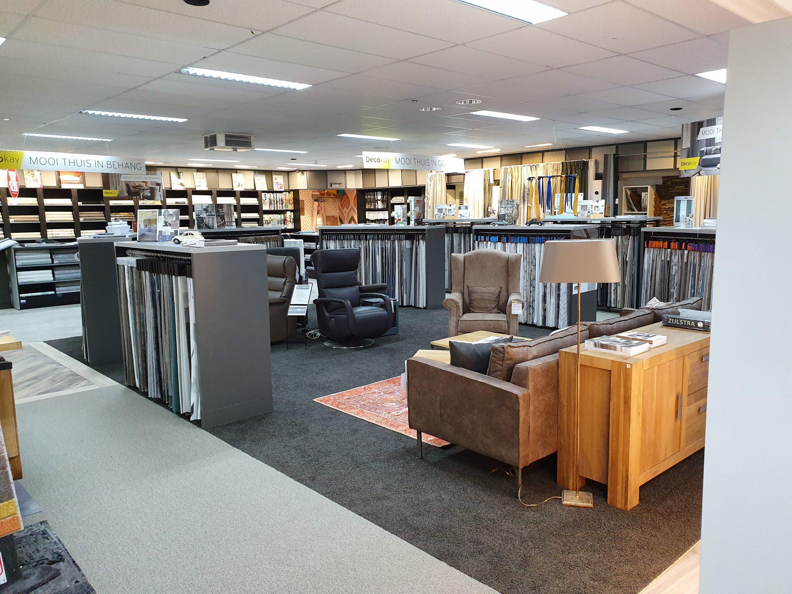 Gordijnen Friesland_ meubelzaak